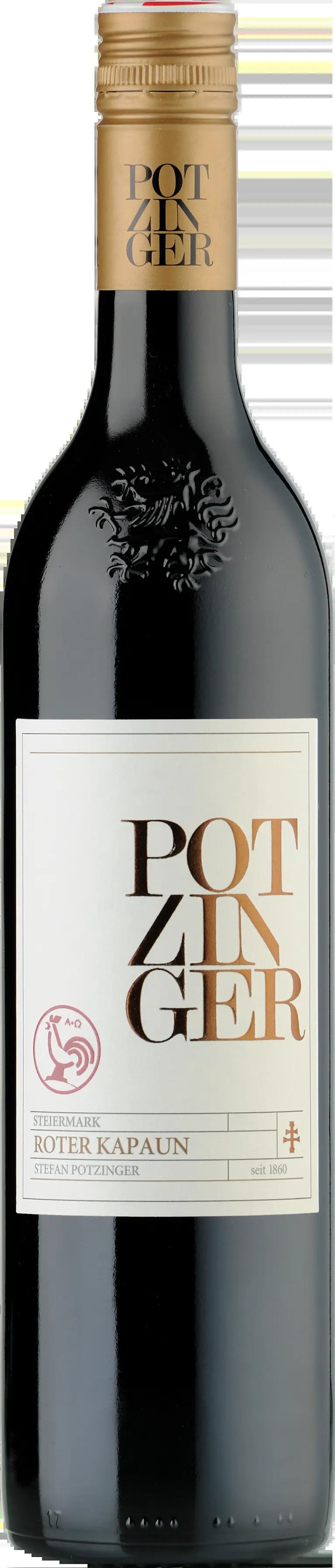 6 Flaschen Roter Kapaun | Stefan Potzinger | 2015 | 0,75 Liter