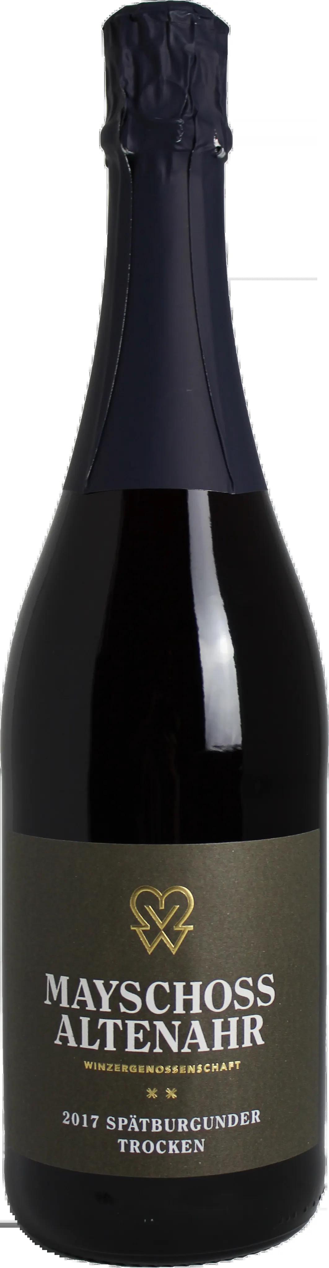 6 Flaschen Spätburgunder Rot Sekt | Mayschoss | 2017 | 0,75 Liter