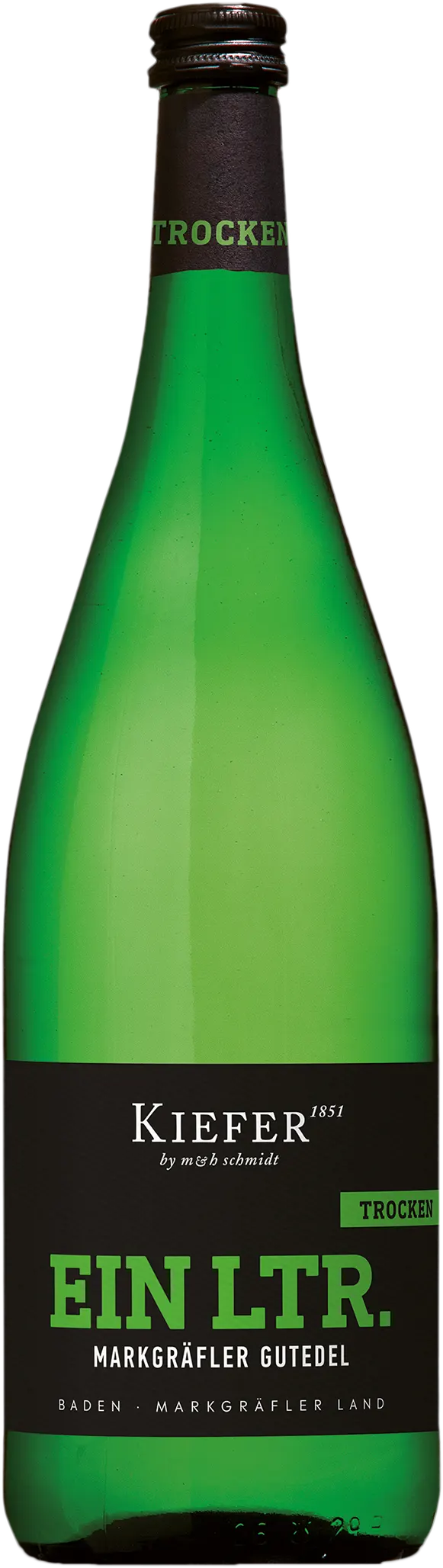6 Flaschen Gutedel | Kiefer | 2019 | 1 Liter
