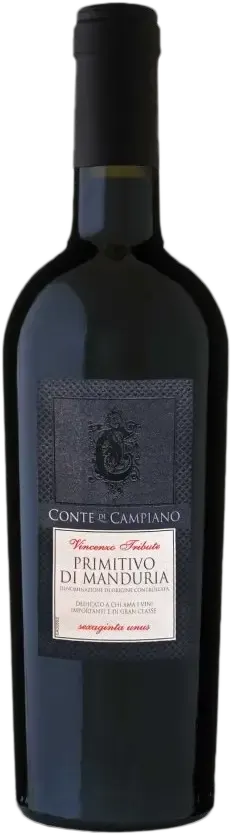 6 Flaschen Primitivo Manduria | Conte Di Campiano | 2018 | 0,75 Liter