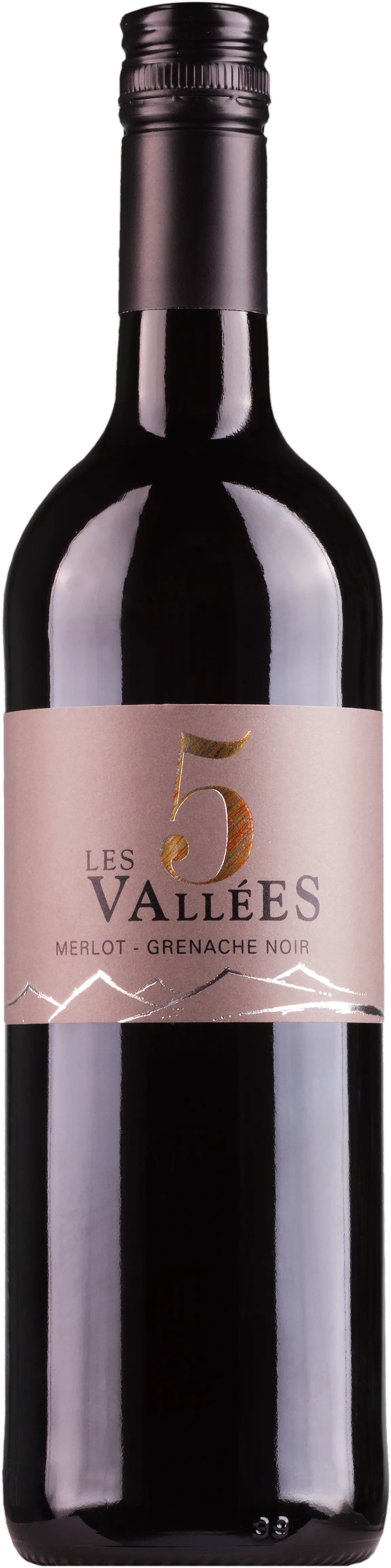 6 Flaschen Merlot/Grenache Noir Les 5 Vallees | Domaines Paul Mas | 2019 | 0,75 Liter