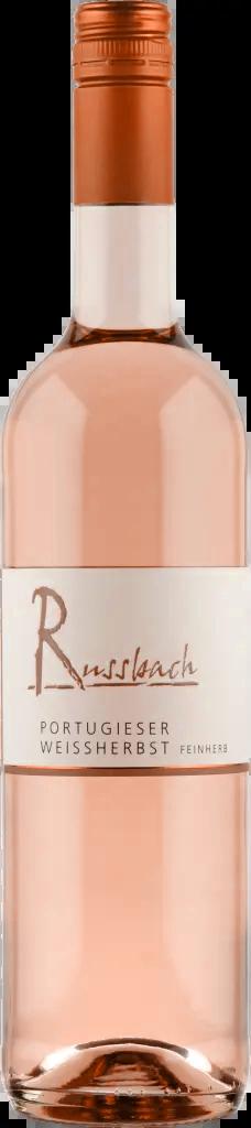 6 Flaschen Portugieser Weißherbst | Russbach | 2018 | 0,75 Liter