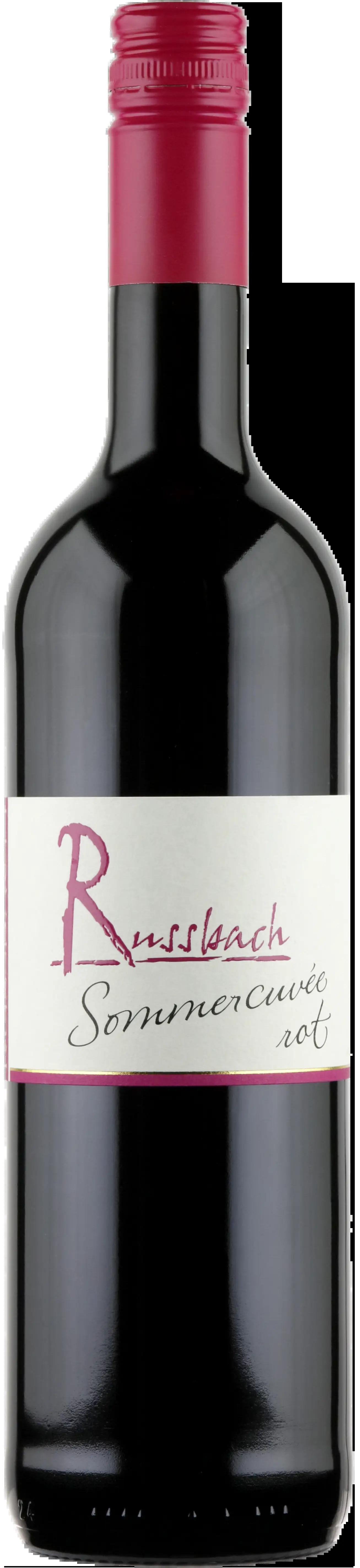 6 Flaschen Sommercuvèe Rot | Russbach | 2019 | 0,75 Liter