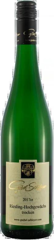 6 Flaschen Riesling Hochgewächs | Göbel-Schleyer | 2018 | 0,75 Liter
