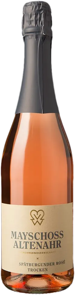 6 Flaschen Spätburgunder Rose Sekt | Mayschoss | 2019 | 0,75 Liter