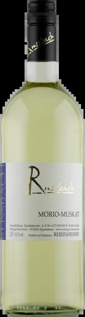 6 Flaschen Morio-Muskat | Russbach | 2018 | 1 Liter