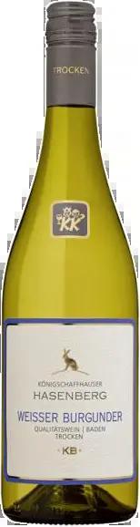 6 Flaschen Weißer Burgunder | Königschaffhausen | 2018 | 1 Liter