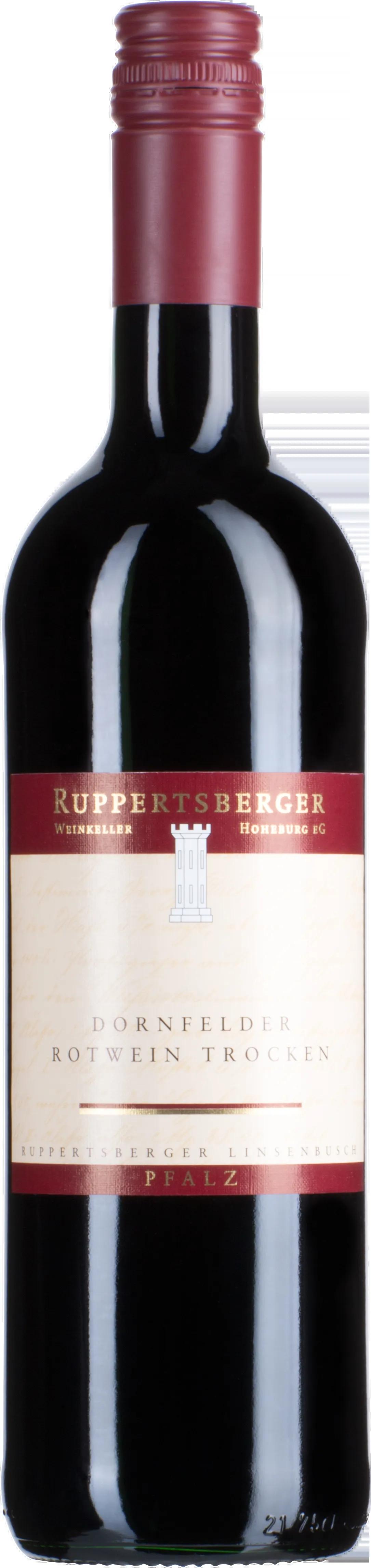 6 Flaschen Dornfelder | Ruppertsberger | 2018 | 0,75 Liter